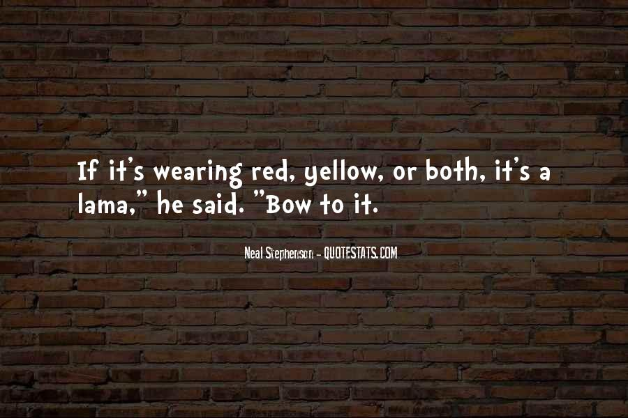 Quotes About Wearing Red #1530758