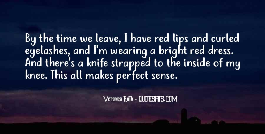 Quotes About Wearing Red #236728
