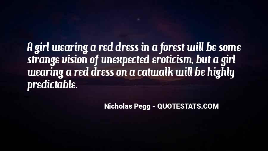 Quotes About Wearing Red #271388