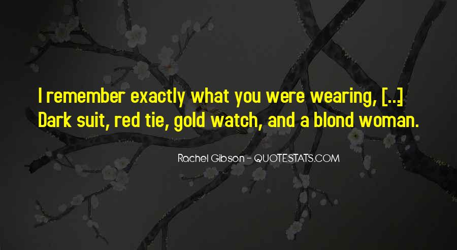Quotes About Wearing Red #489427