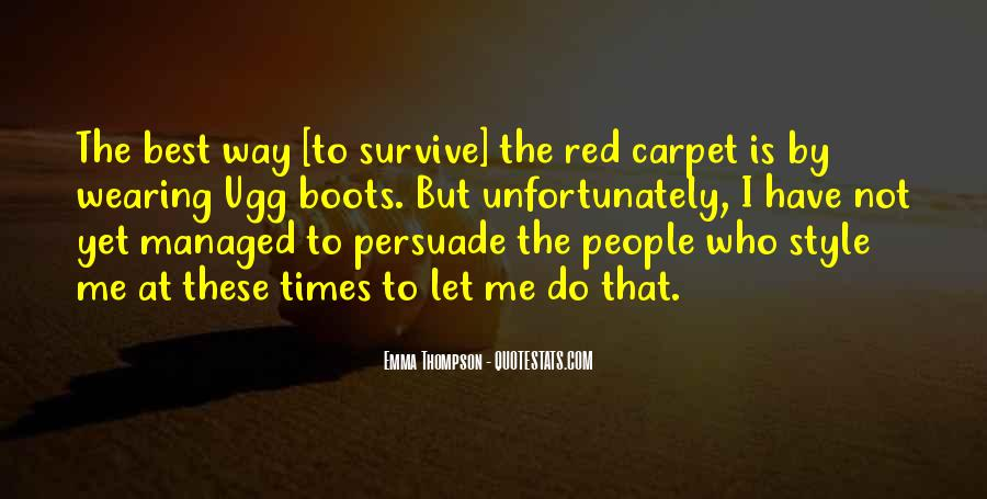 Quotes About Wearing Red #548187