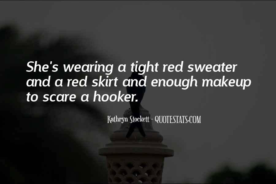 Quotes About Wearing Red #823146