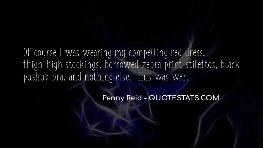 Quotes About Wearing Red #936090
