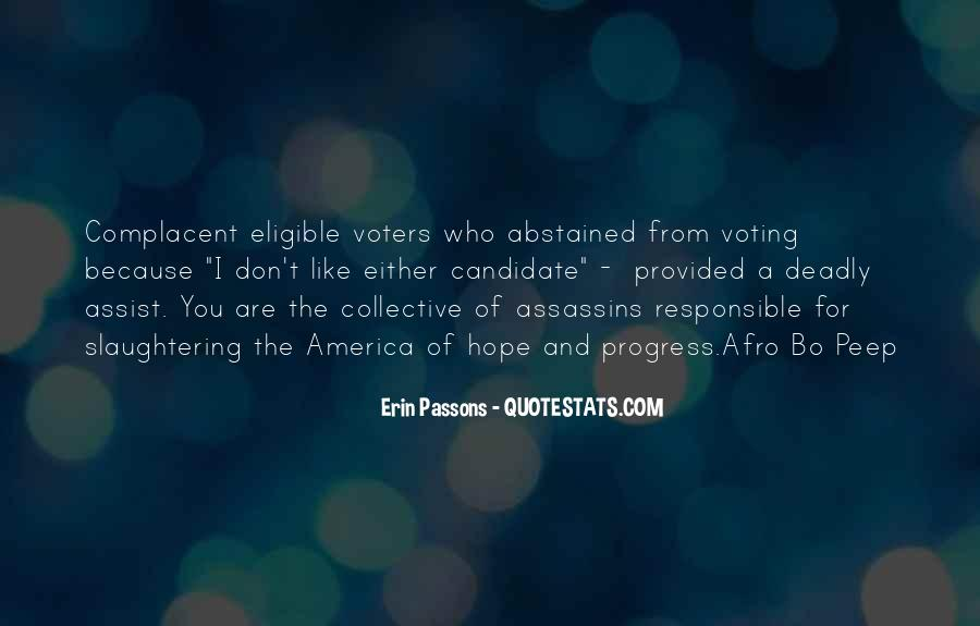 Quotes About Responsible Voting #597550