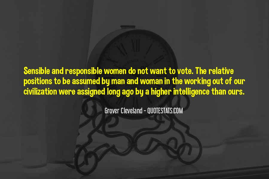 Quotes About Responsible Voting #820745