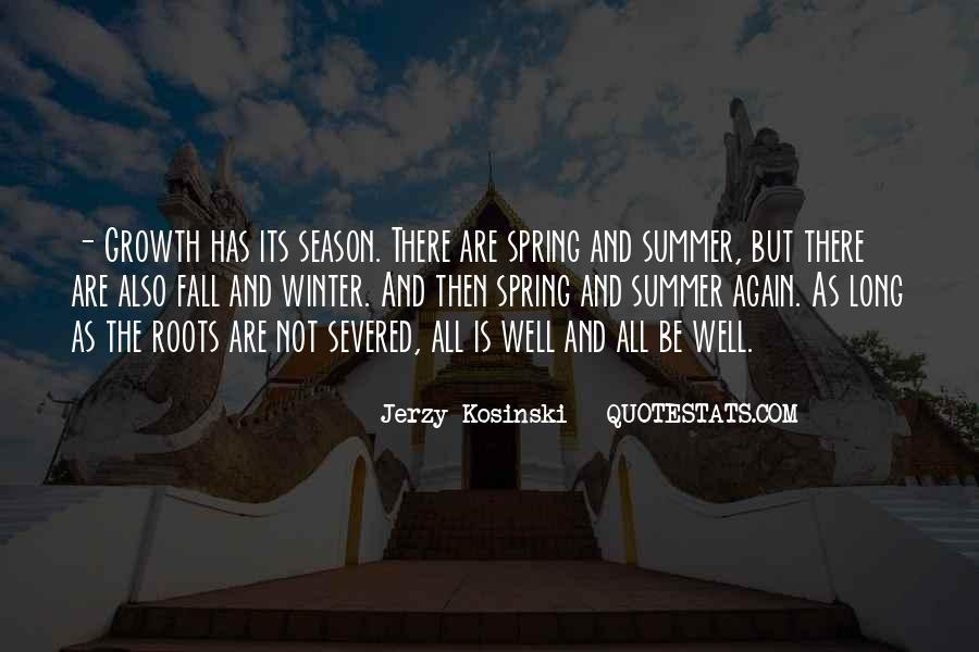 Quotes About Summer Season #1131780