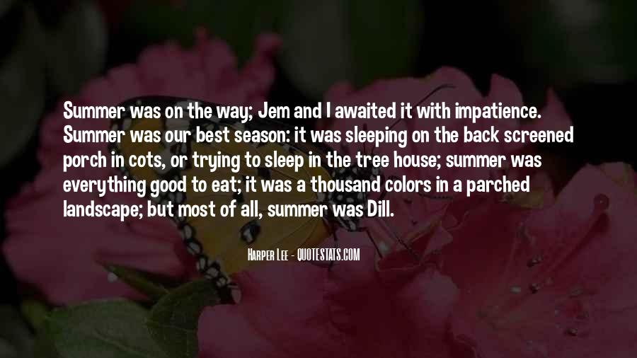Quotes About Summer Season #1135022