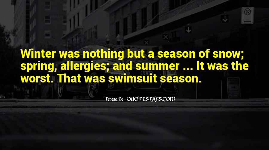 Quotes About Summer Season #1154409