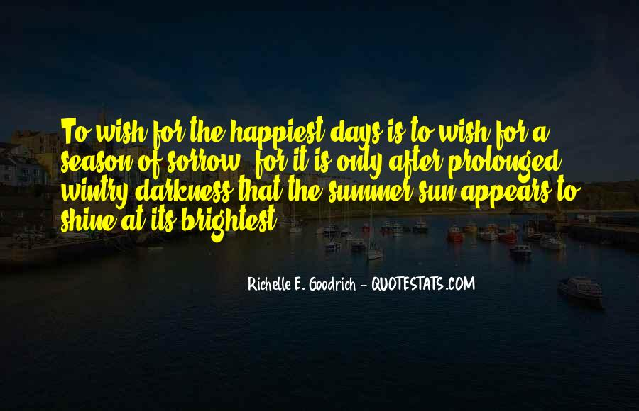 Quotes About Summer Season #1287279
