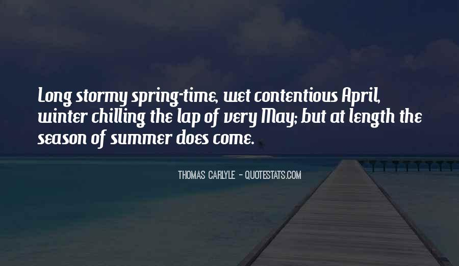 Quotes About Summer Season #1374944