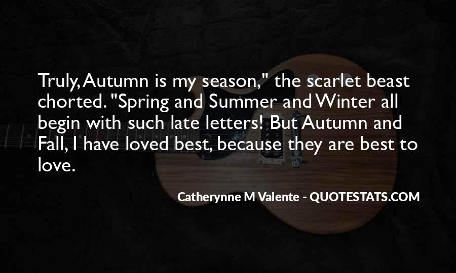 Quotes About Summer Season #1401142