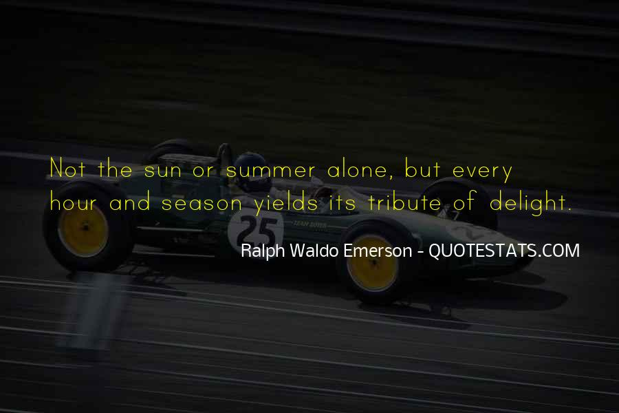 Quotes About Summer Season #1542819