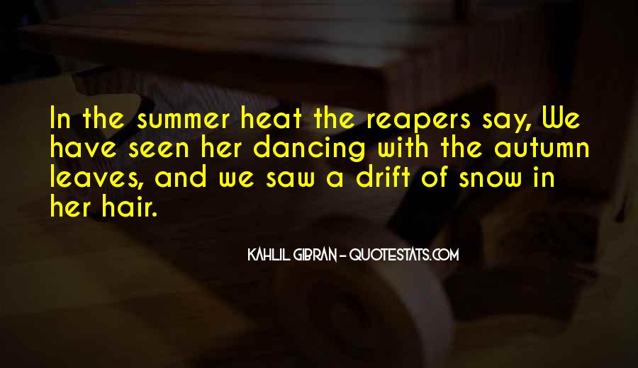 Quotes About Summer Season #154869
