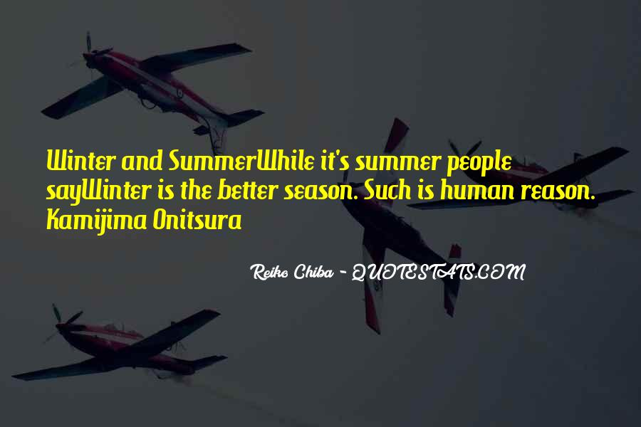 Quotes About Summer Season #1648125