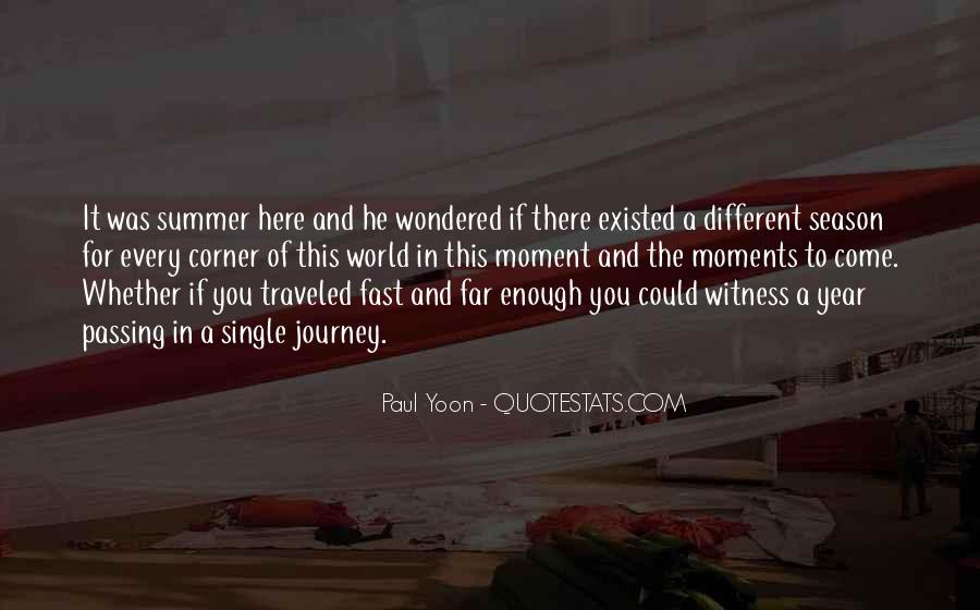 Quotes About Summer Season #1708910