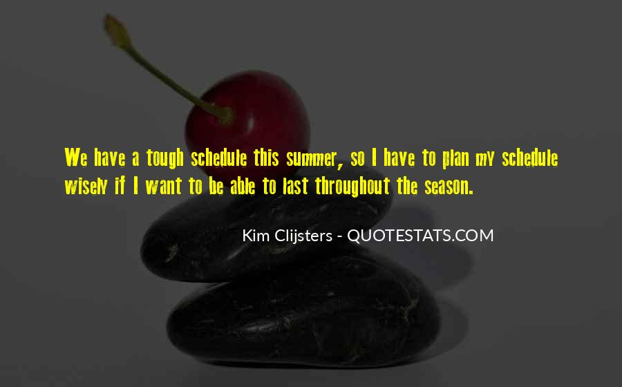 Quotes About Summer Season #1734051