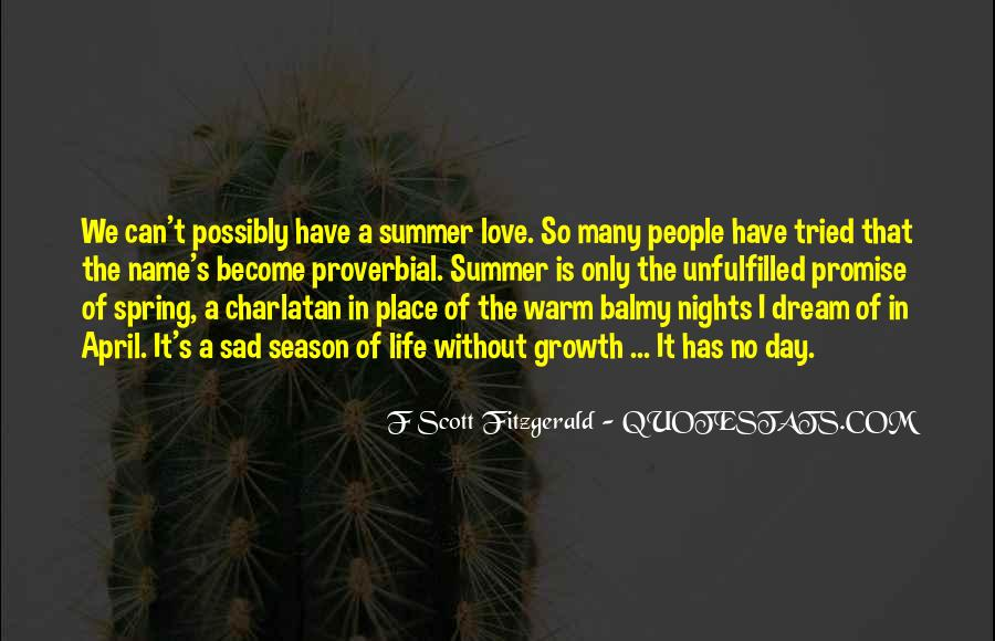 Quotes About Summer Season #1772715