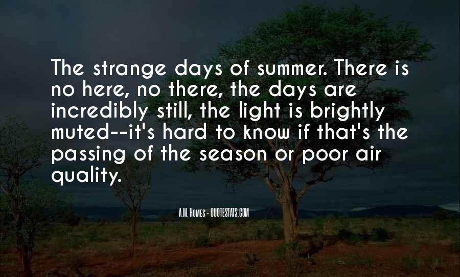Quotes About Summer Season #1864776