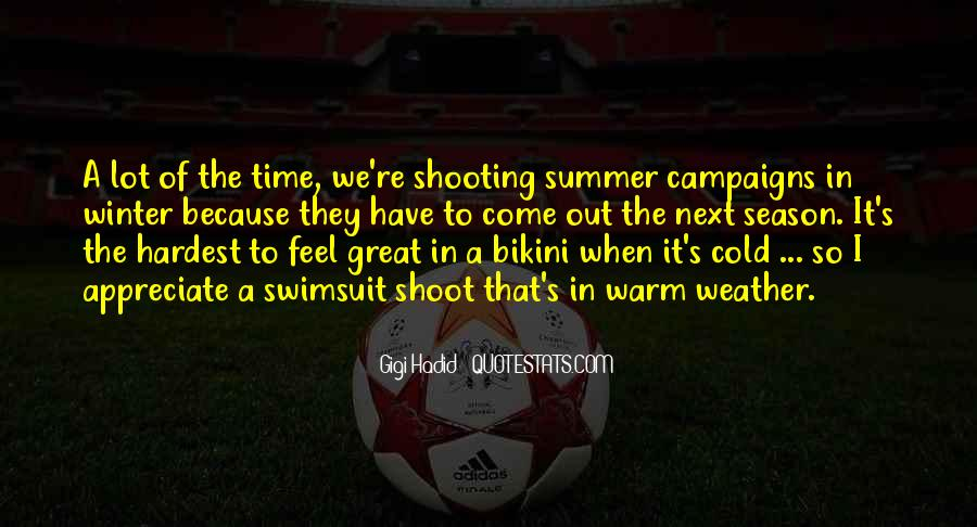 Quotes About Summer Season #459425