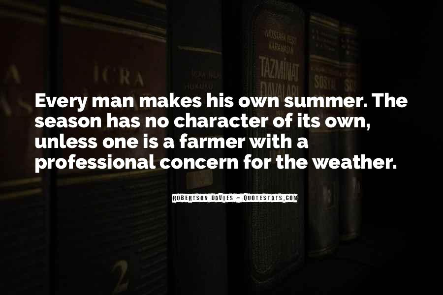 Quotes About Summer Season #463496