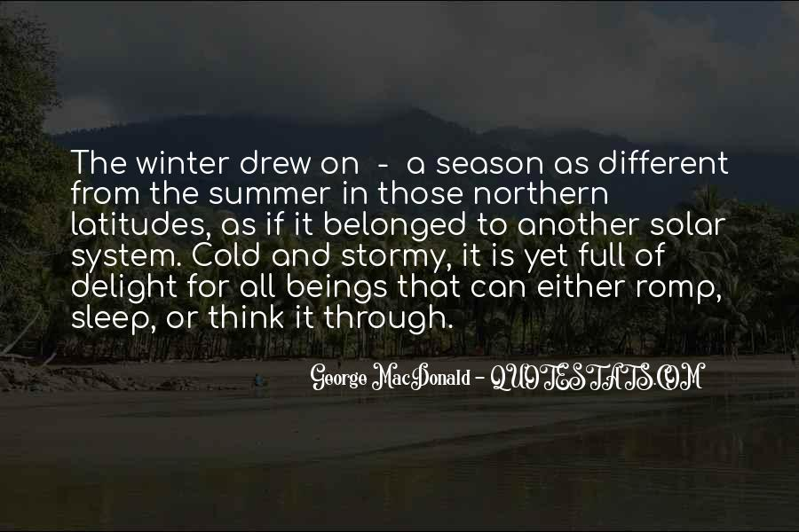 Quotes About Summer Season #774528