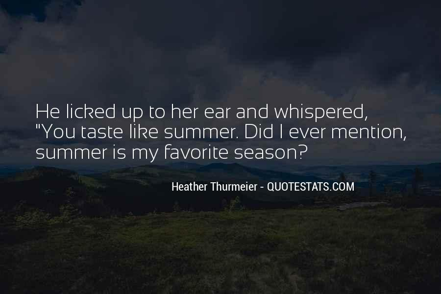 Quotes About Summer Season #775998