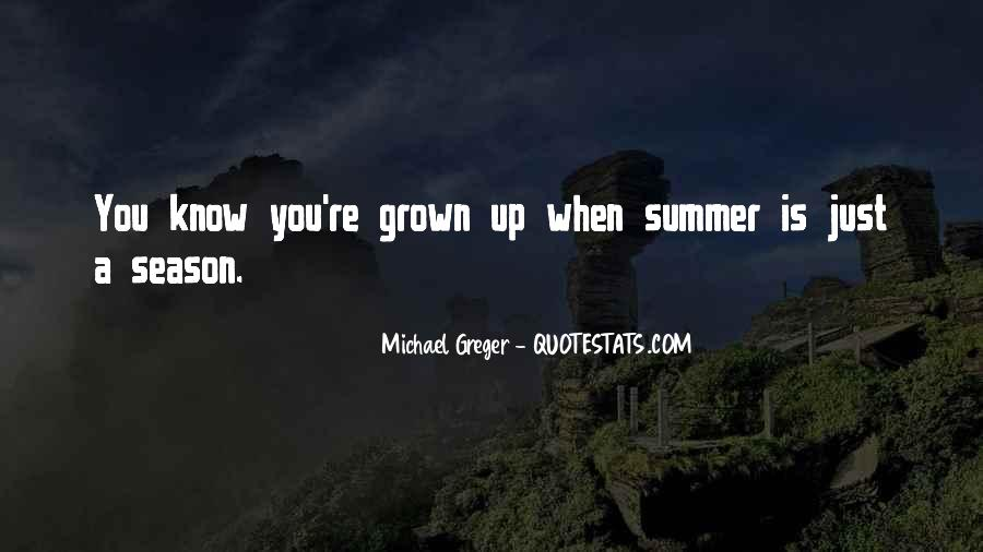 Quotes About Summer Season #931762