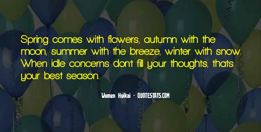 Quotes About Summer Season #991375