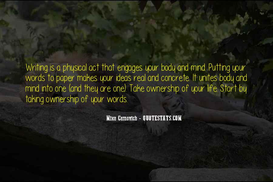 Quotes About Taking Ownership Of Your Life #221235