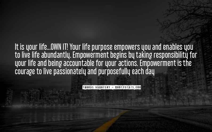 Quotes About Taking Ownership Of Your Life #534224