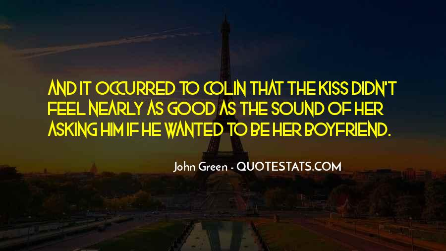 Quotes About Love To Boyfriend #1485809