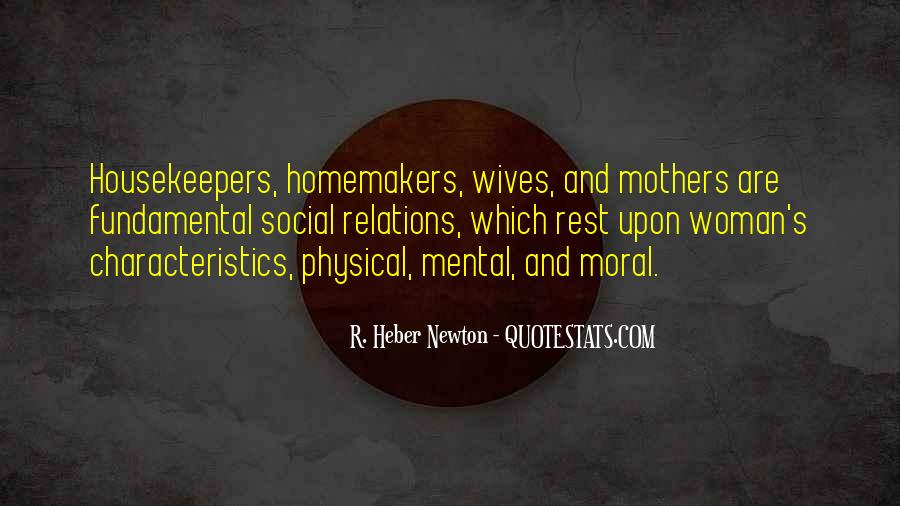 Quotes About Homemakers #1187647