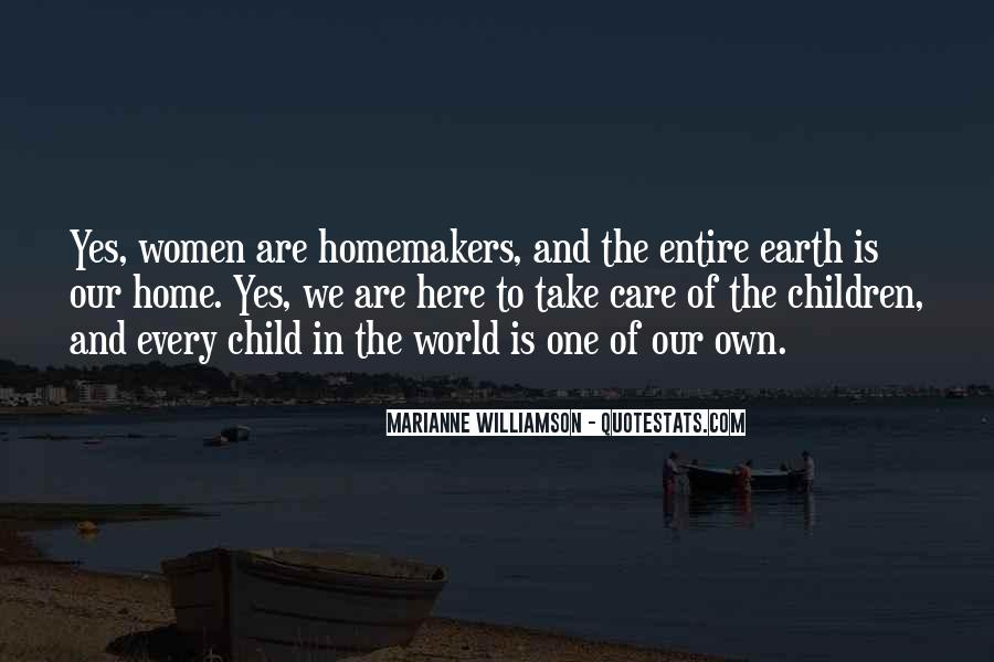 Quotes About Homemakers #544832