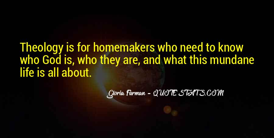 Quotes About Homemakers #737085