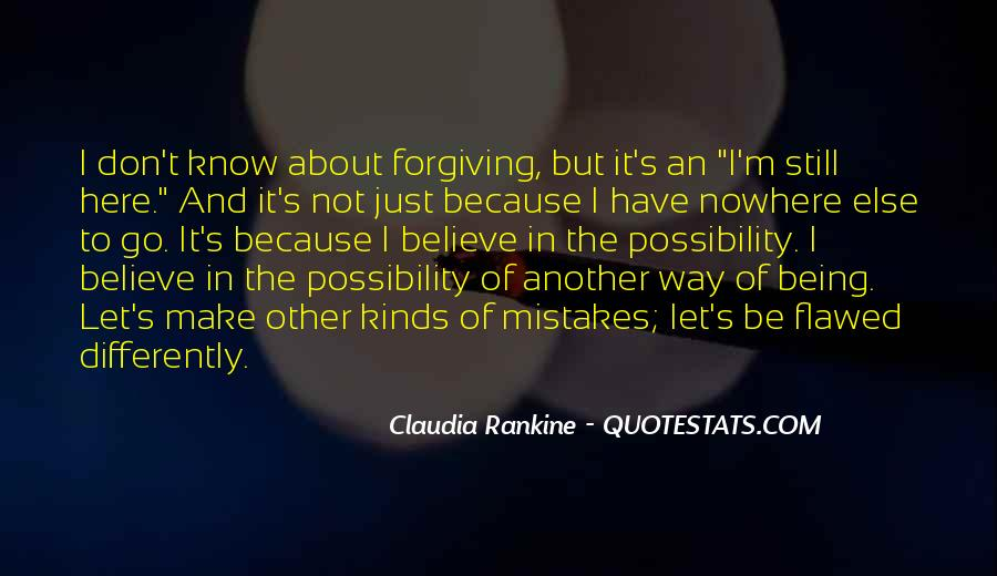 Quotes About Forgiving One Another #110019