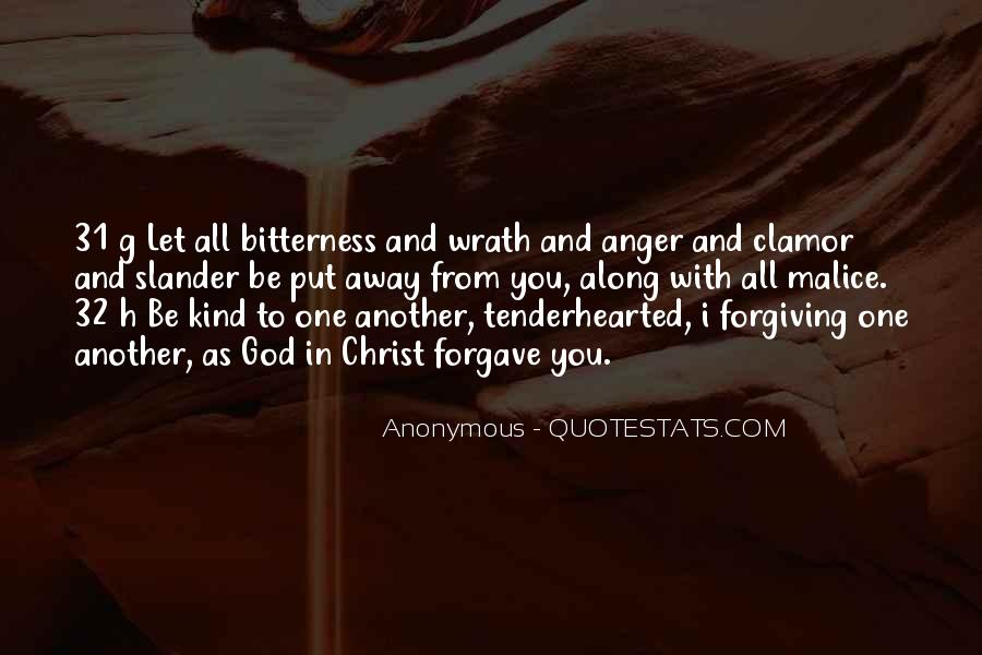 Quotes About Forgiving One Another #123264