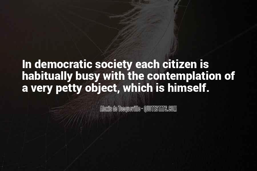 Quotes About Democratic Society #1001663