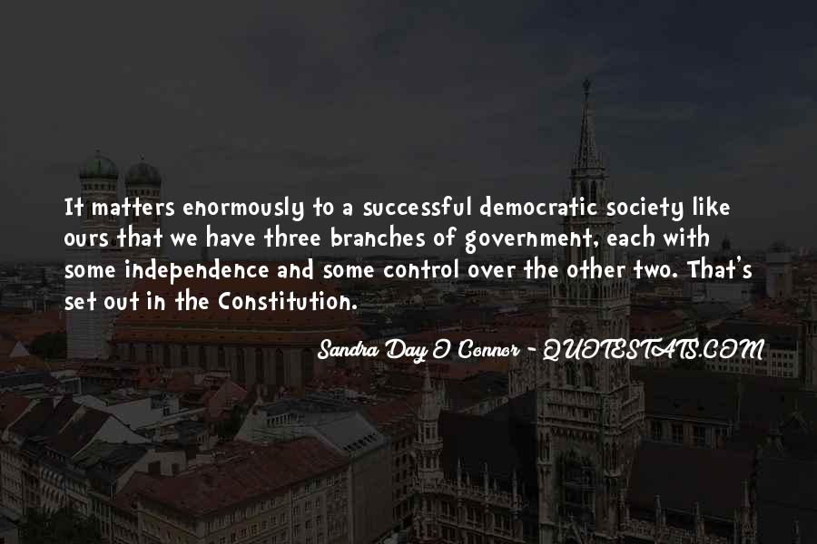 Quotes About Democratic Society #1002533
