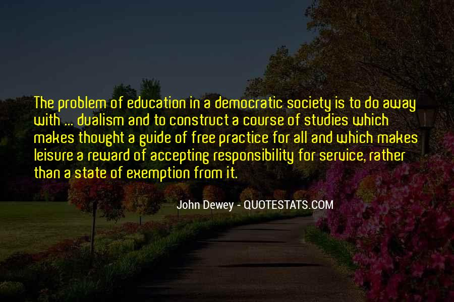 Quotes About Democratic Society #1088808
