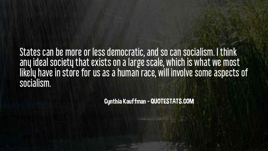 Quotes About Democratic Society #1099225