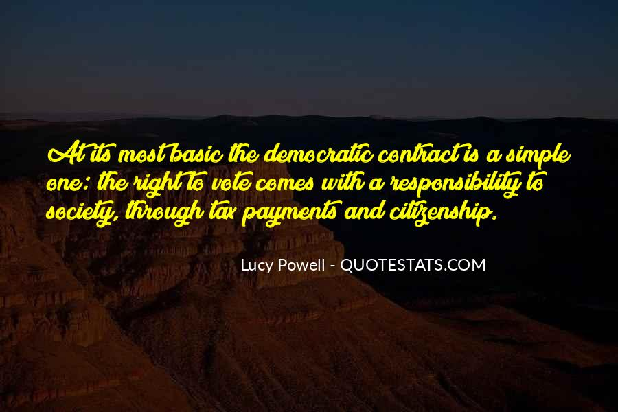 Quotes About Democratic Society #1145058