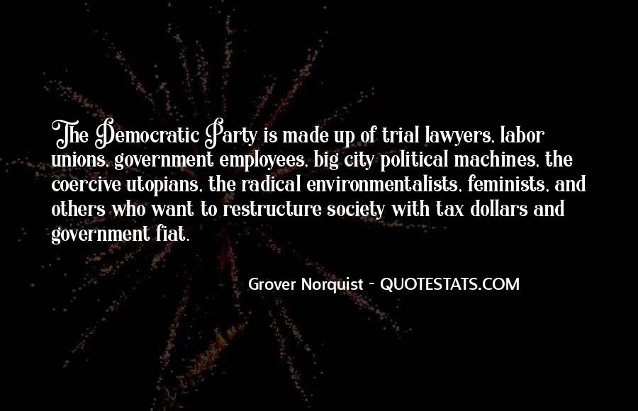 Quotes About Democratic Society #1237901