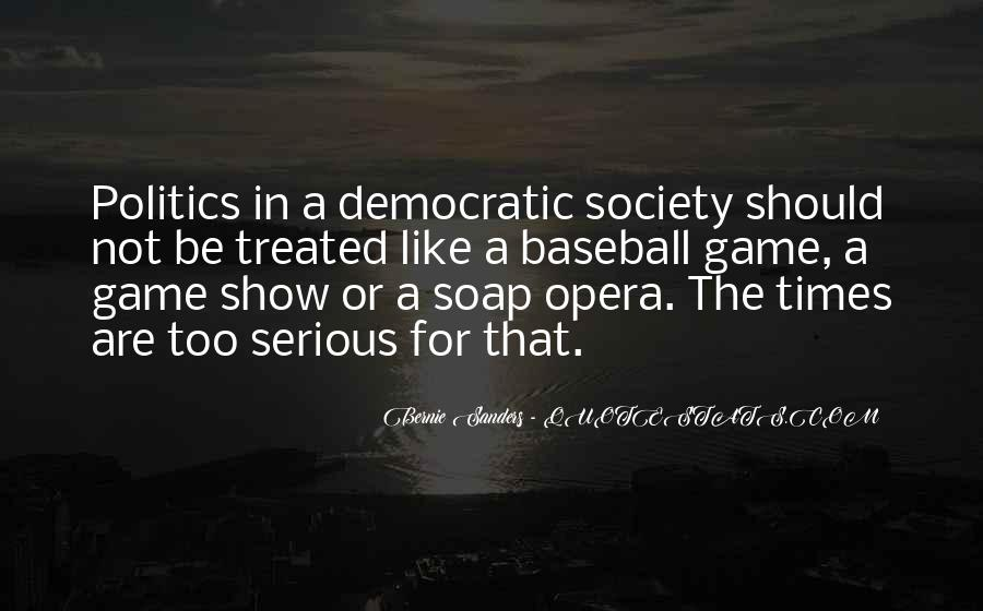 Quotes About Democratic Society #1262591