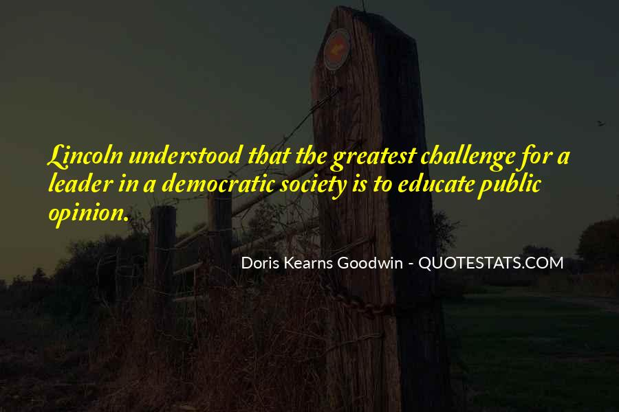 Quotes About Democratic Society #1363146