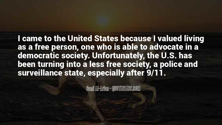 Quotes About Democratic Society #1379471