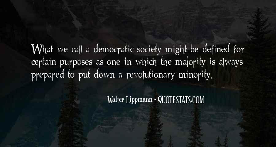 Quotes About Democratic Society #1412467