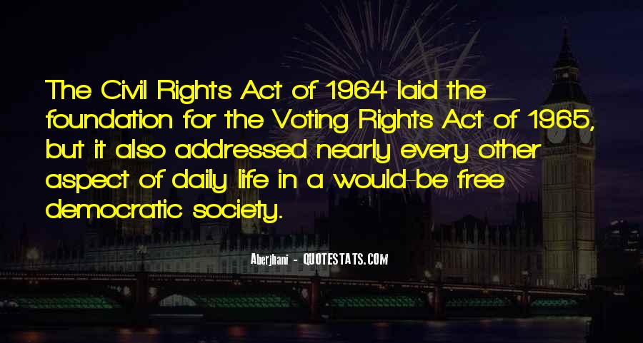 Quotes About Democratic Society #1430090