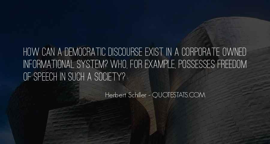 Quotes About Democratic Society #1435007