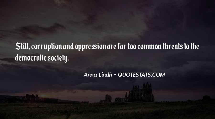 Quotes About Democratic Society #300181