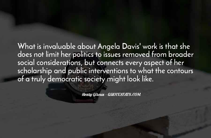 Quotes About Democratic Society #406605